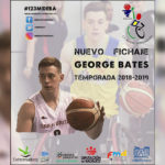 GEORGE BATES se incorpora al MIDEBA EXTREMADURA