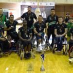 Mideba Extremadura tercer clasificado de la liga