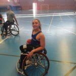 La paralímpica Charlotte Moore, su disciplina inglesa aportará equilibrio al MIDEBA